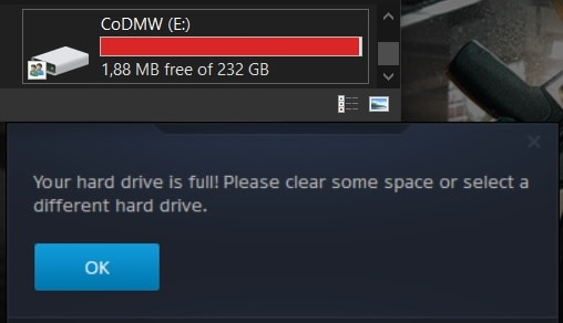 256GB SSD no longer enough to hold and upgrade CoD: Modern Warfare on PC