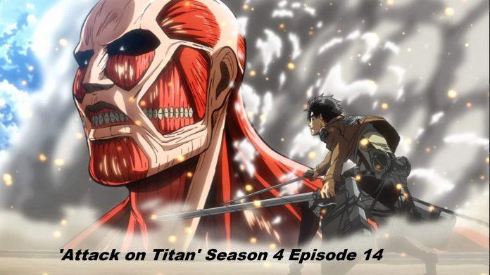 'Attack on Titan' Season 4 Episode 14 Release Date