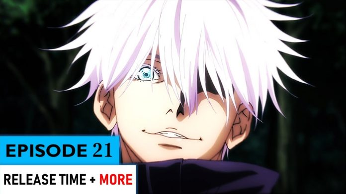 What is the global premiere date & time of Jujutsu Kaisen Episode 21 on Crunchyroll?