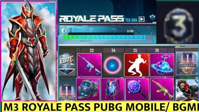 PUBG Mobile Season 22 aka M3 Leaks